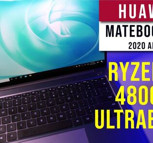 Huawei Matebook 14 2020 AMD - The ultra portable Ryzen7 4800H Ultrabook 27