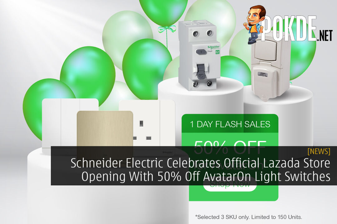 Schneider Electric AvatarOne Flash Sale Lazada cover
