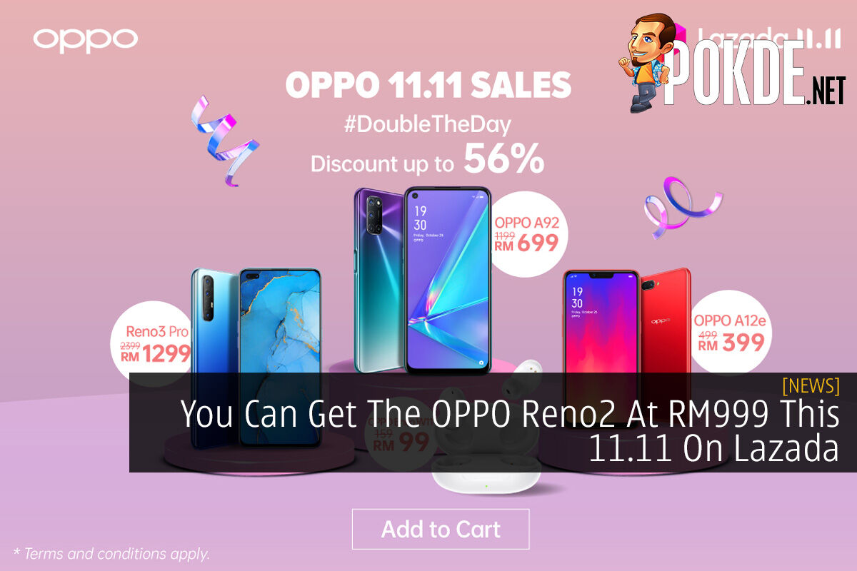 You Can Get The OPPO Reno2 At RM999 This 11.11 On Lazada 6