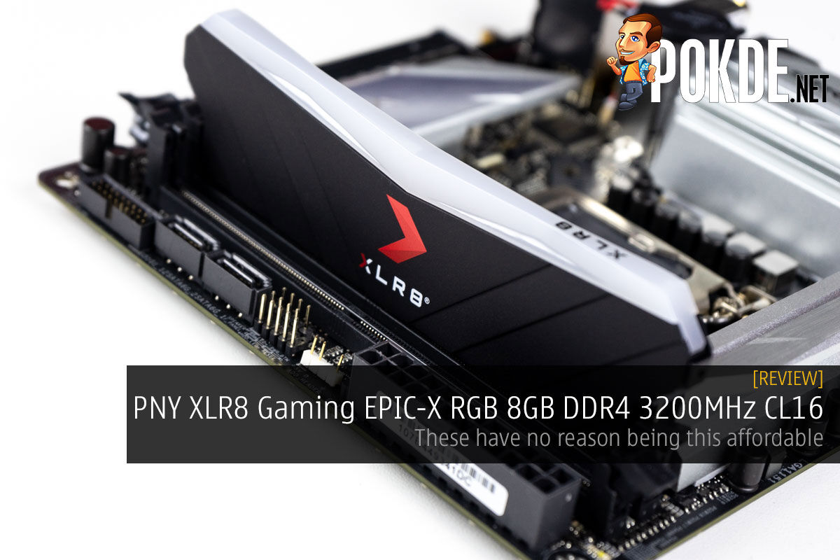 PNY XLR8 Gaming EPIC-X RGB 8GB DDR4 3200MHz CL16 Review — these have no reason being this affordable 8