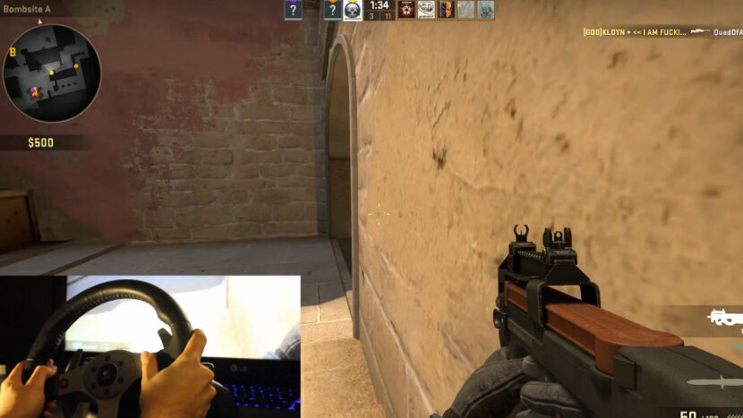 Do you even steer in Counter Strike? 28