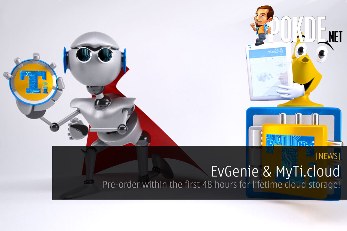 EvGenie & MyTi.cloud — pre-order within the first 48 hours for lifetime cloud storage! 23