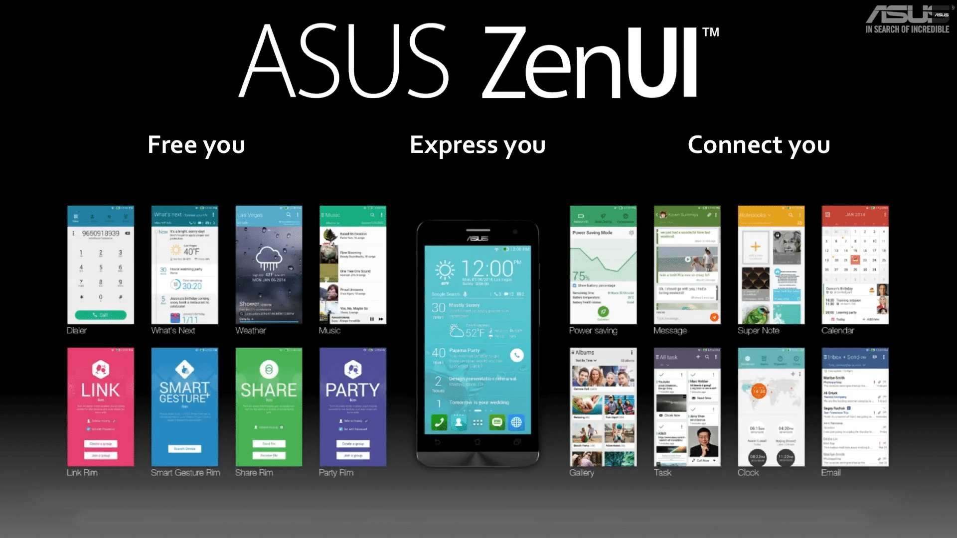 ASUS ZenFone ZenUI Walk-through. 18