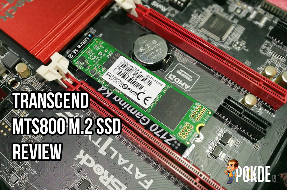 Transcend MTS800 M.2 256GB SSD review 25