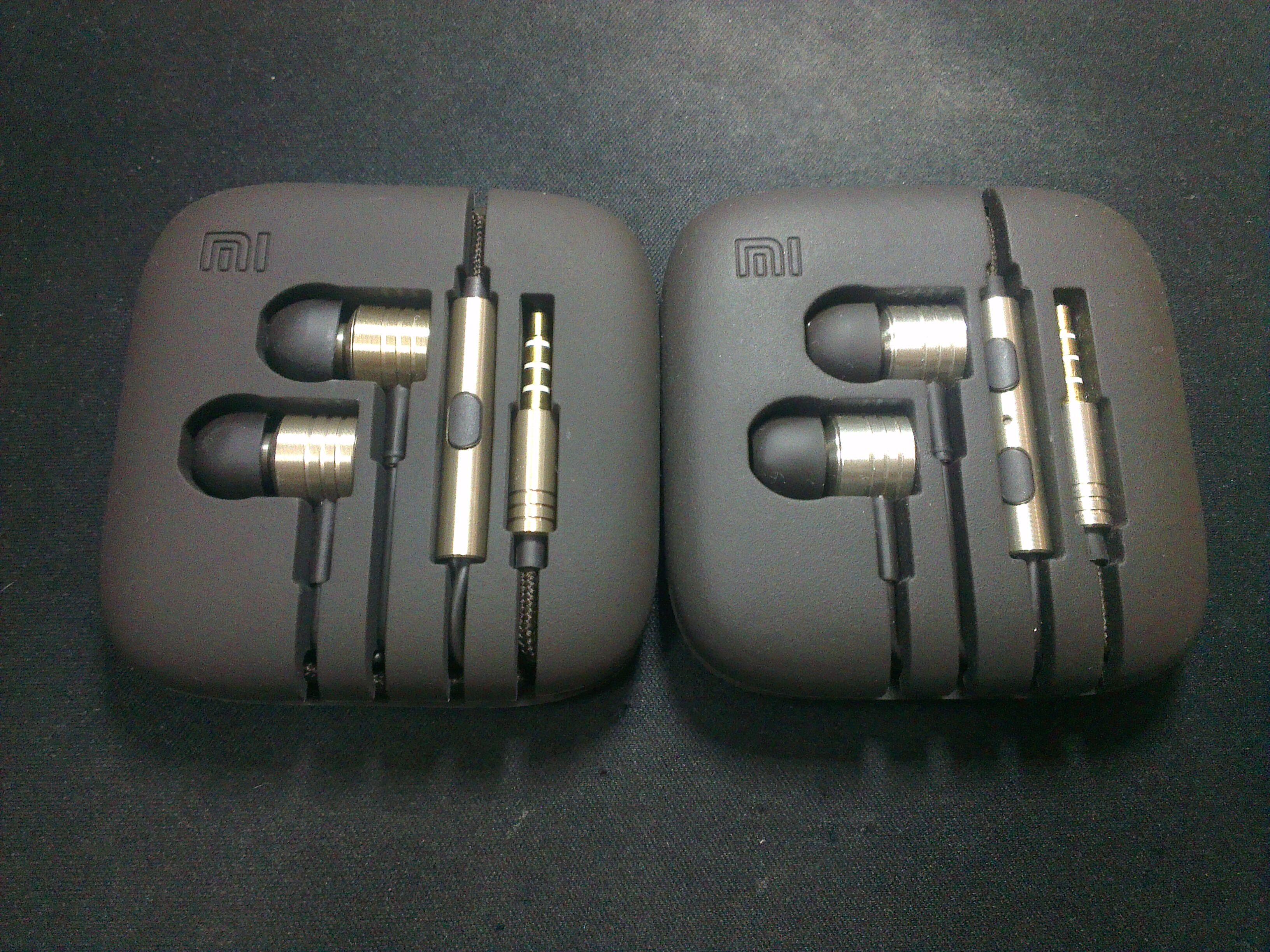 XiaoMi Piston 2.1 vs iF Edition 27