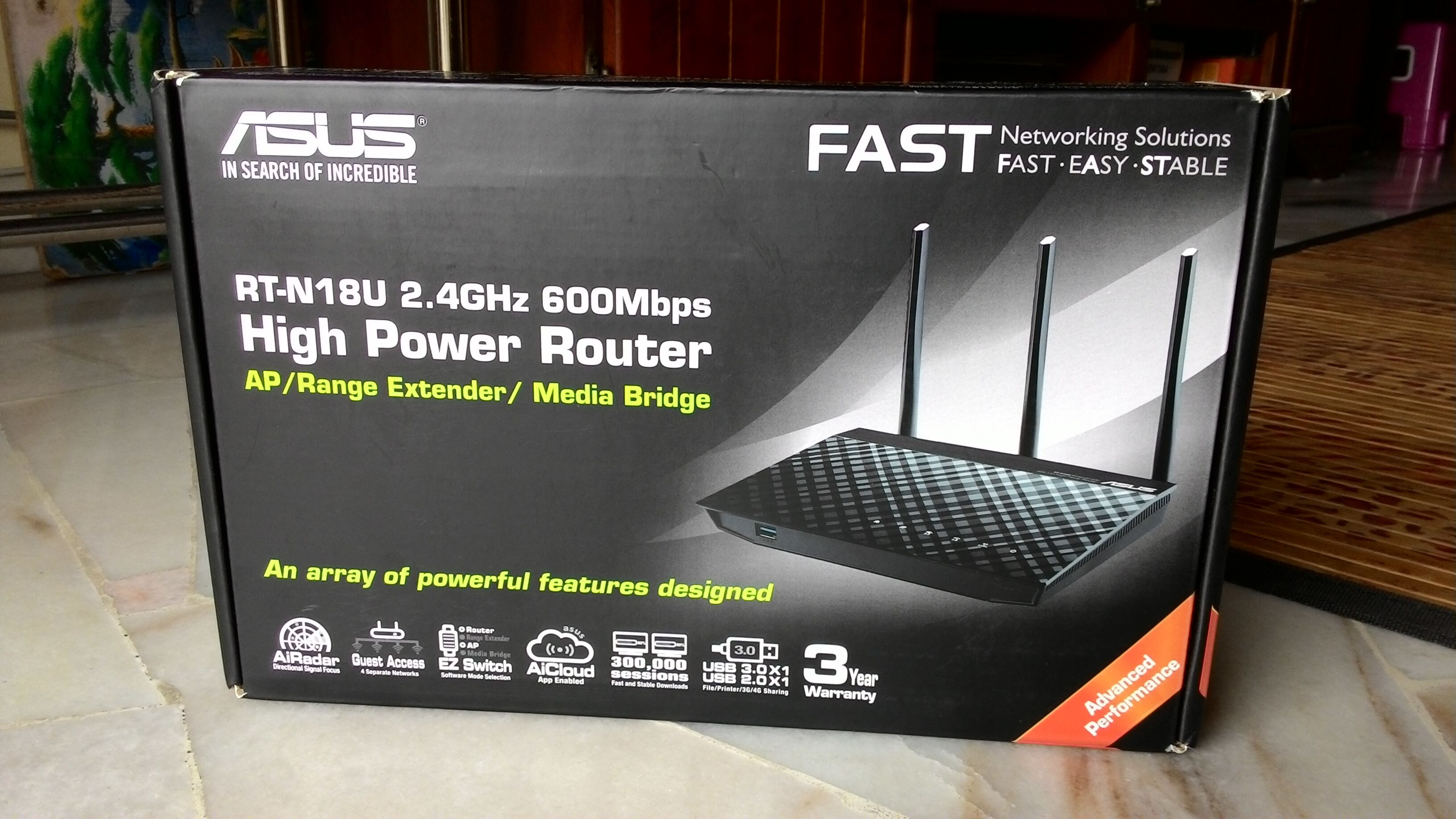 ASUS RT-N18U Reviews and Unboxing 25