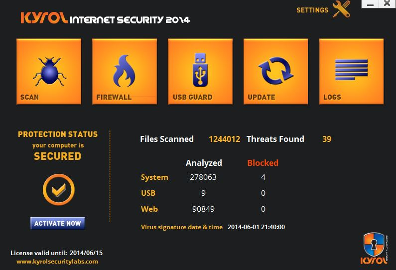 KYROL Internet Security Review 22