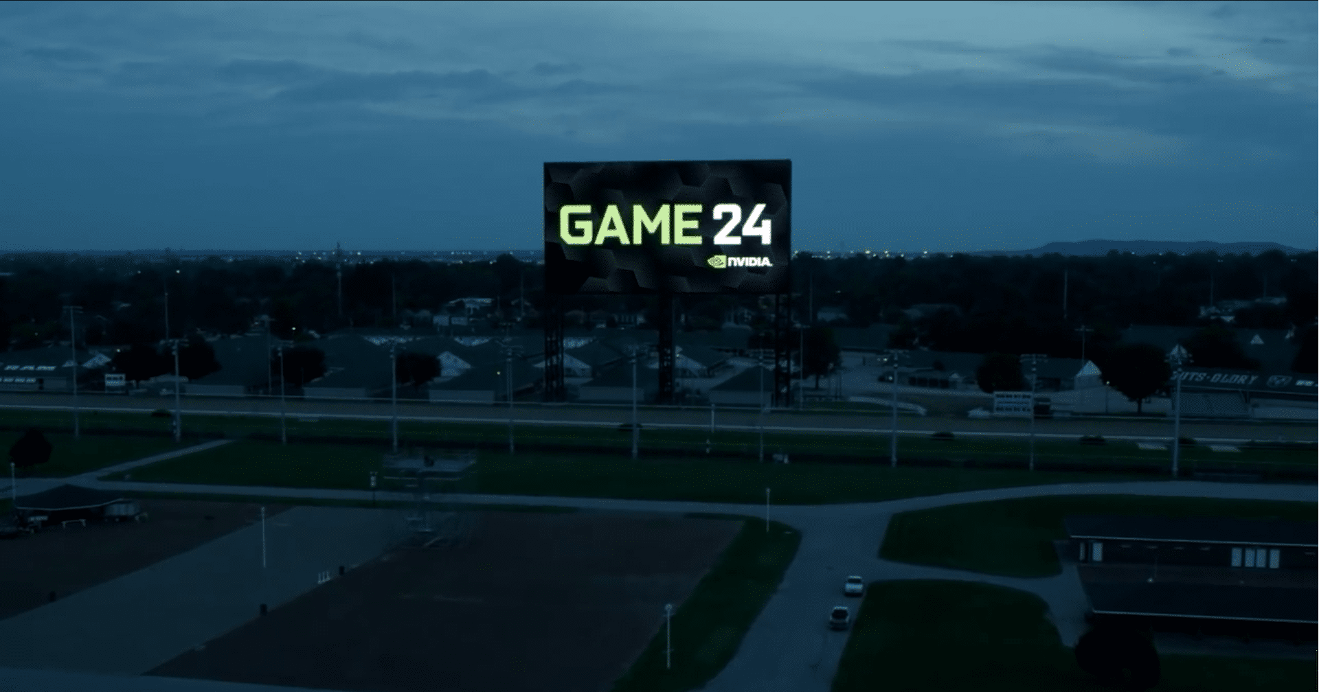 GAME24: World's Largest 4K Display Guinness World Record at Churchill Downs with the Nvidia Maxwell 21