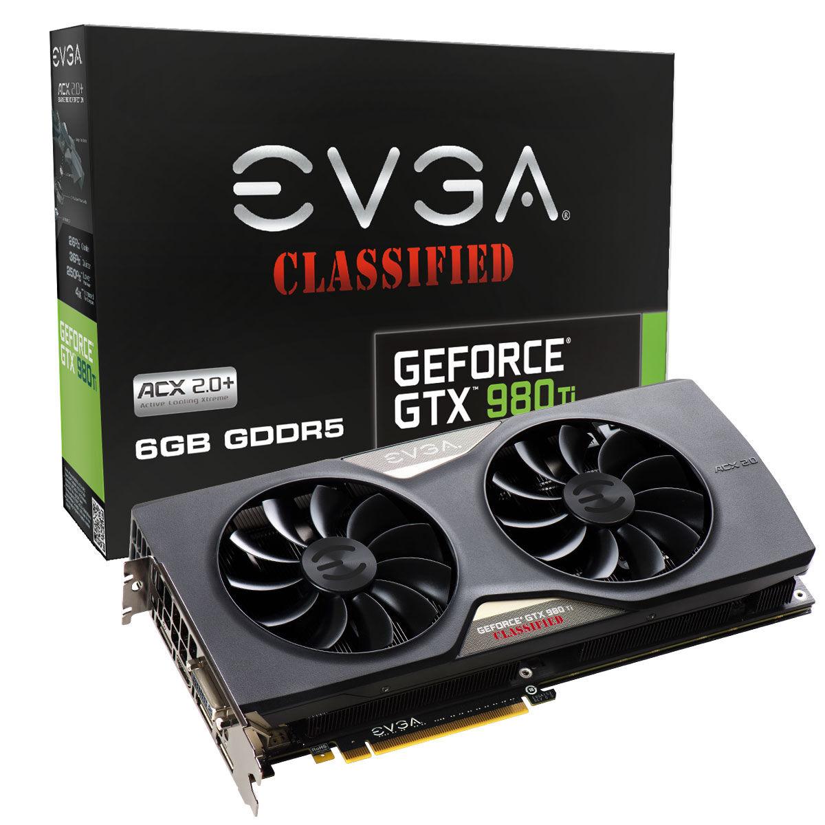 EVGA GeForce GTX 980 Ti Classified ACX 2.0+ announced 19