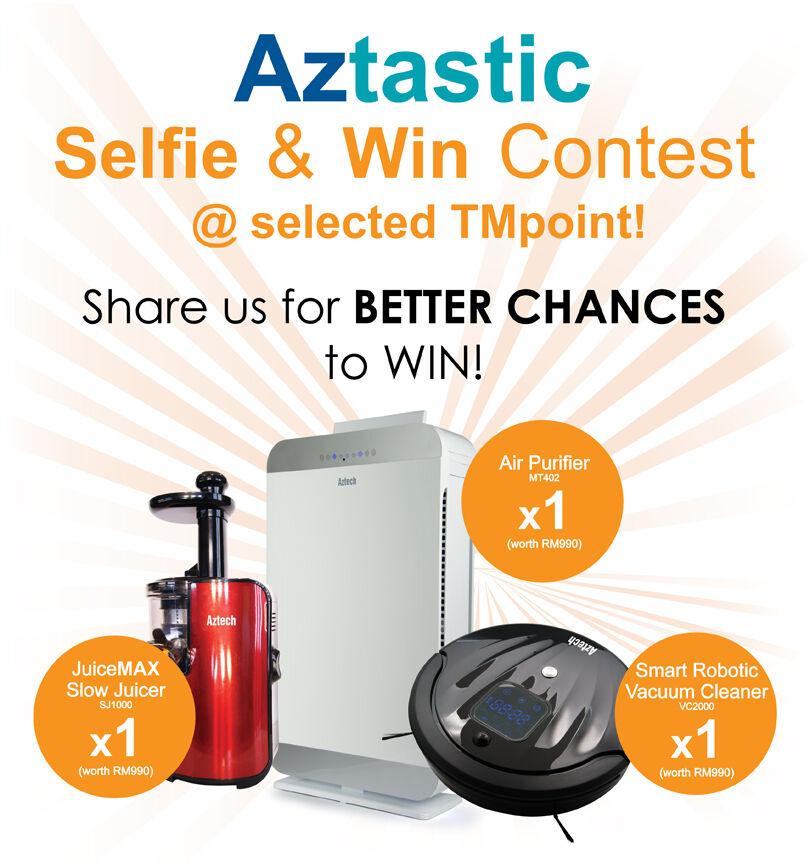 Aztastic Selfie & Win Contest! 50