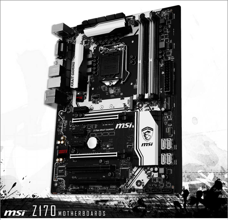 MSI teases Z170 SLI KRAIT edition — with Dragon logo 21
