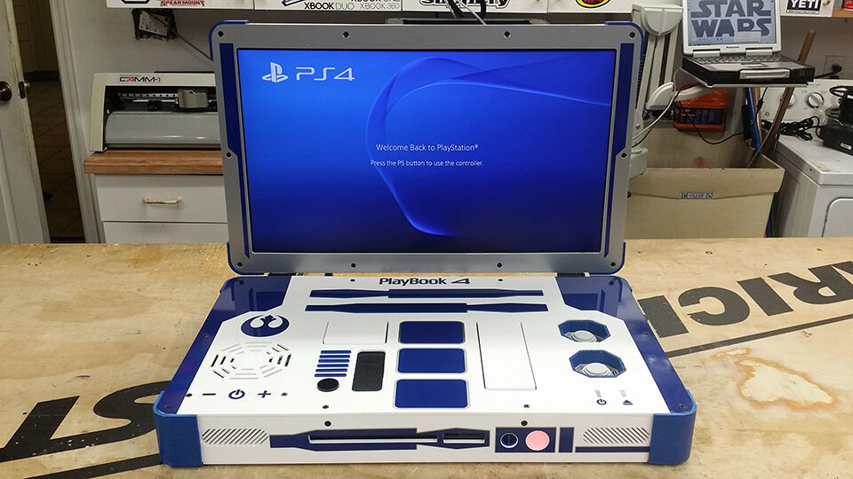 Mobile R2-D2-themed PS4 23