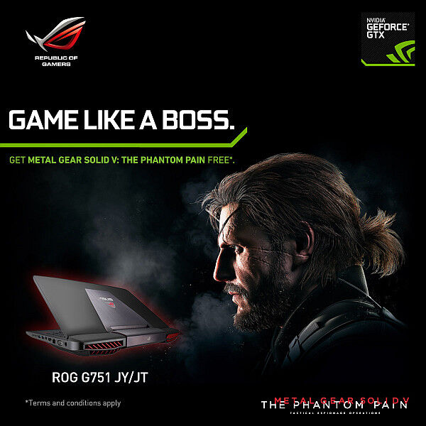 ASUS Republic of Gamers Announces Metal Gear Solid V: The Phantom Pain Laptop Bundles 31