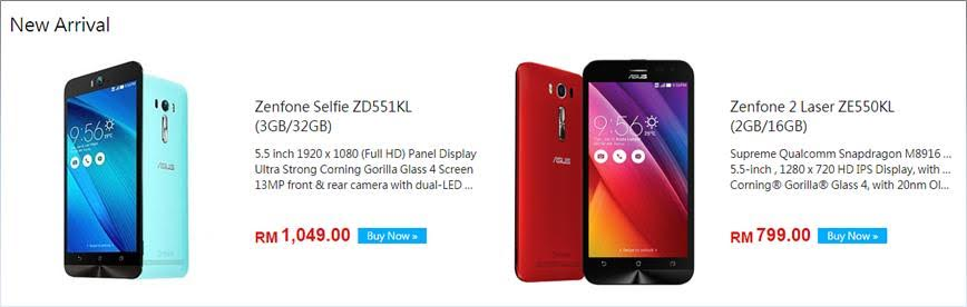 ASUS ZenFone Selfie and ZenFone 2 Laser are now available at ASUS Store Online 25