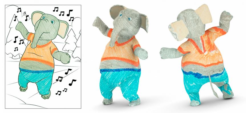 Disney research turns children's coloring books into augmented reality 20