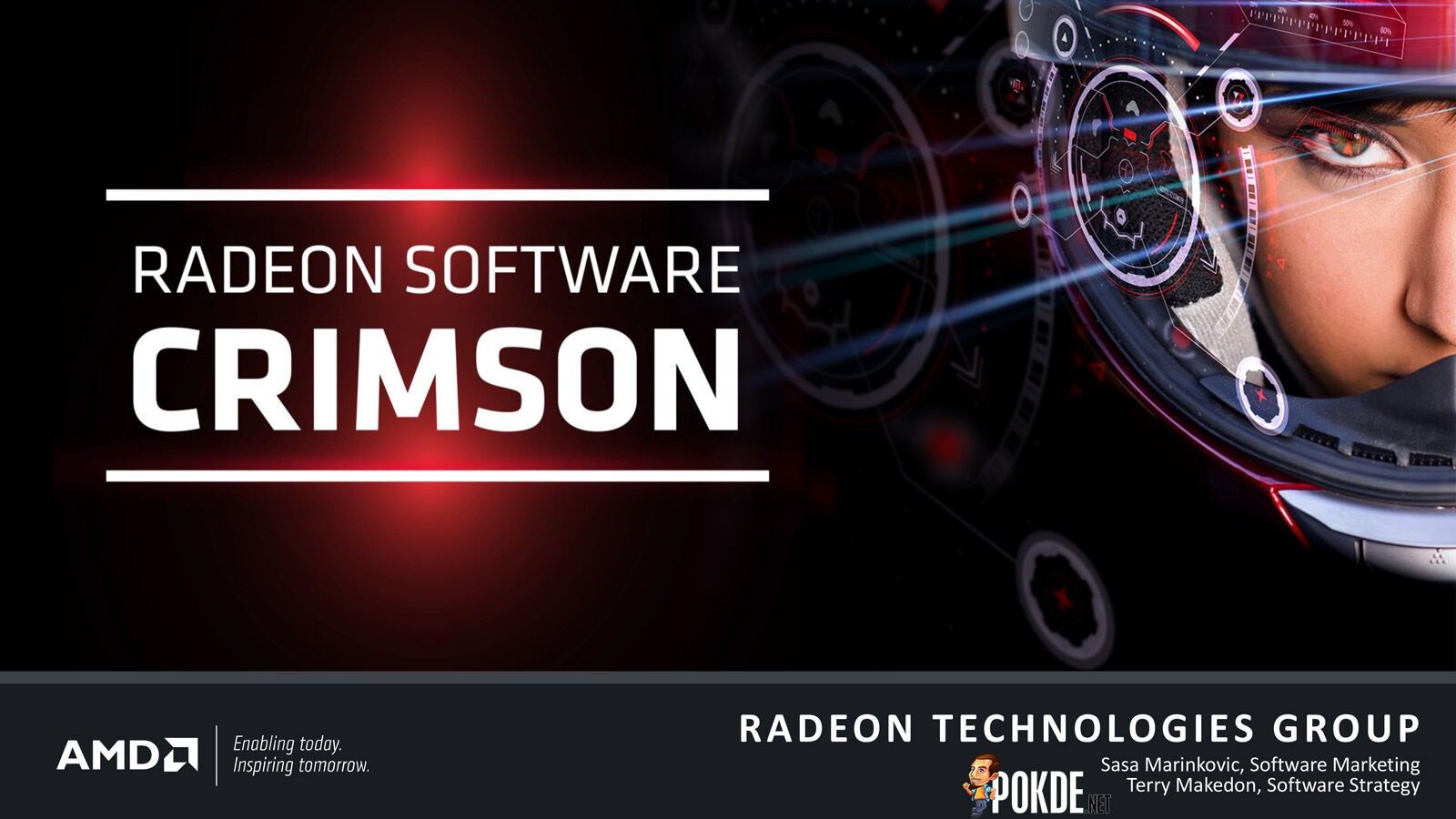Radeon Technologies Group launched their first product today — Radeon Software Crimson Edition 25