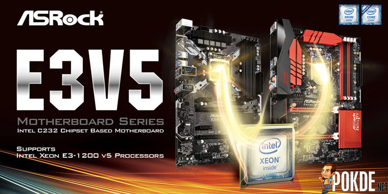 ASRock unveiled two new Intel C232 motherboards for Xeon E3 1200 V5 28
