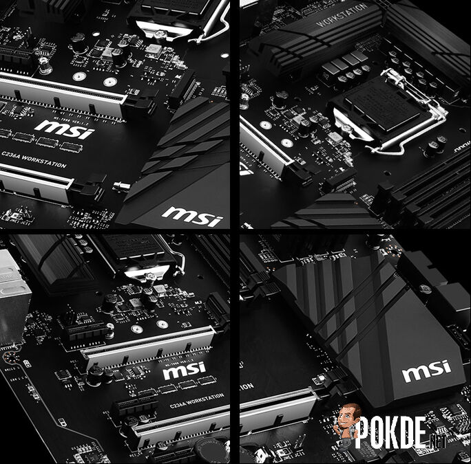 MSI readies two MSI C236 workstation motherboards — harness the power of Intel Xeon E3 V5 20