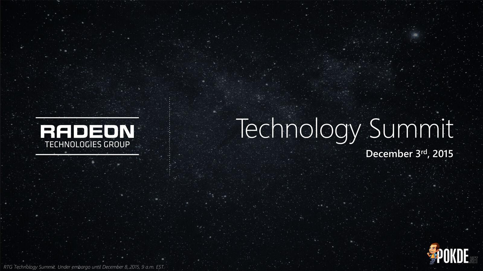 RTG Technology Summit: Visual Technologies — FreeSync over HDMI 28