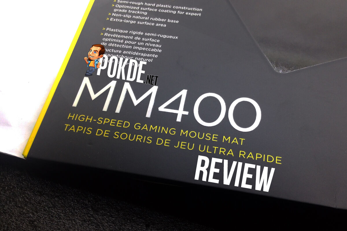 Corsair MM400 high speed mouse pad review 23