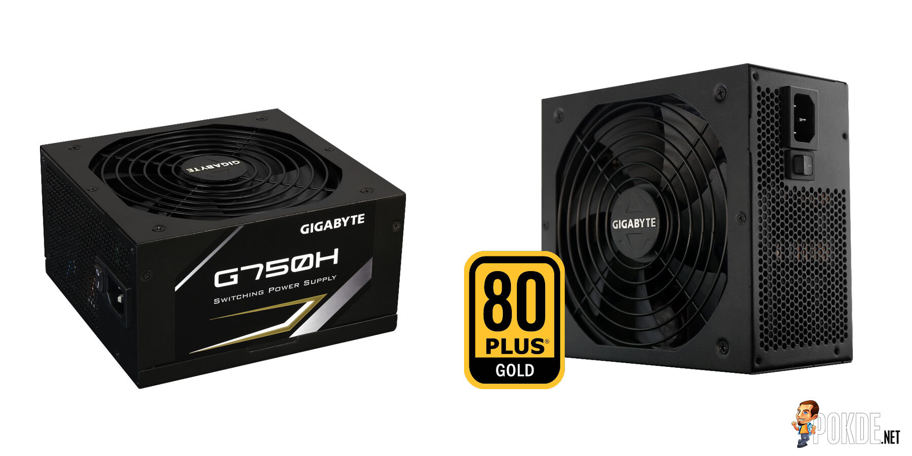 GIGABYTE announces new power supplies series with 80PLUS certified 25