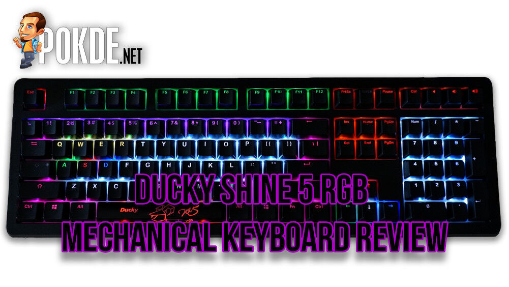 Ducky Shine 5 RGB mechanical keyboard review 17