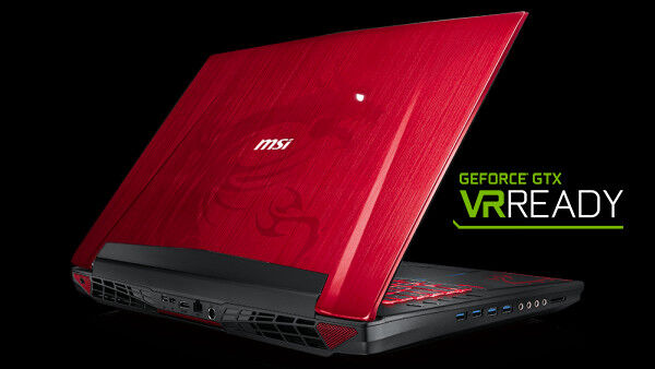 MSI notebooks are ready for VR 26