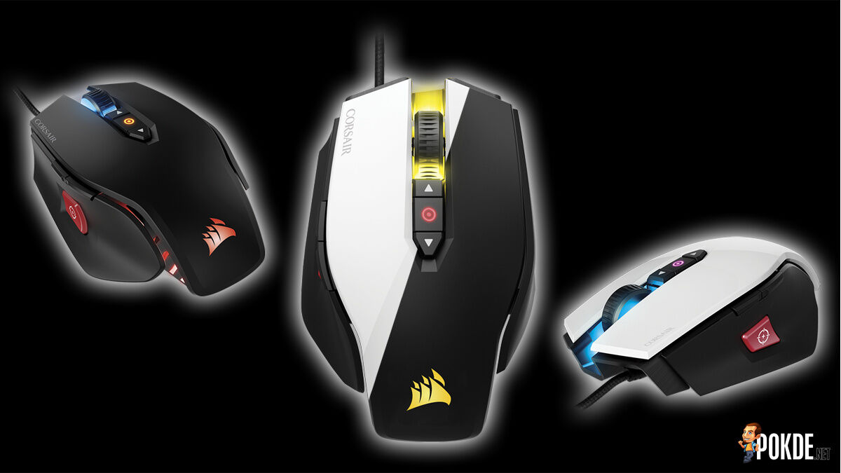 Corsair announces M65 PRO RGB gaming mouse with a whopping 12000 DPI sensitivity 25