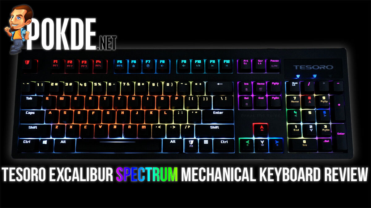Tesoro Excalibur Spectrum review — RGB without breaking the bank 24