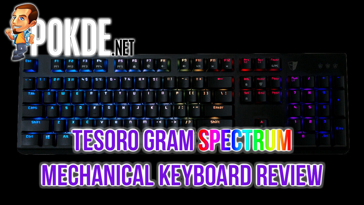 Tesoro Gram Spectrum review — mechanical feel, membrane look 38
