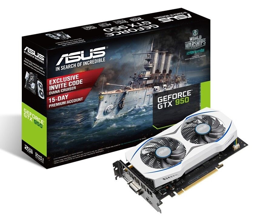 New ASUS GeForce GTX 950 does without power connectors 24