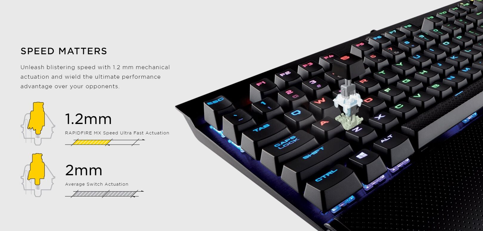 Corsair Rapidfire mechanical keyboards now official 24