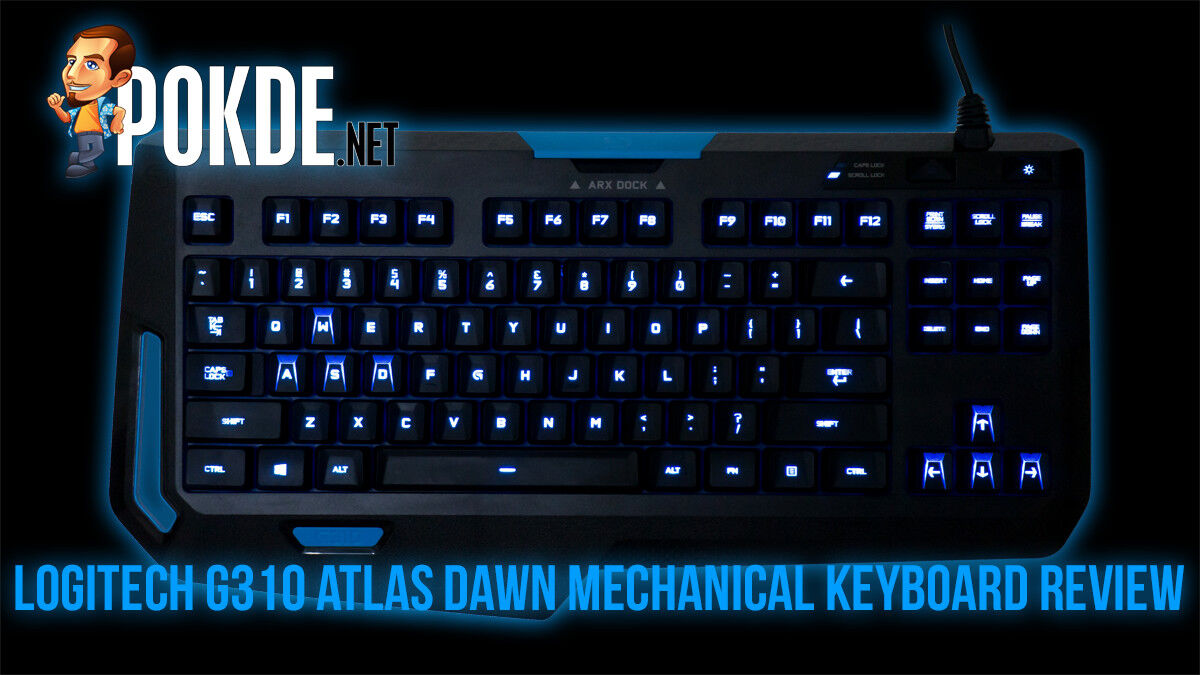 Logitech G310 Atlas Dawn mechanical keyboard review 25