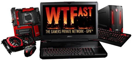 MSI announces exclusive partnership with WTFast GPN 25