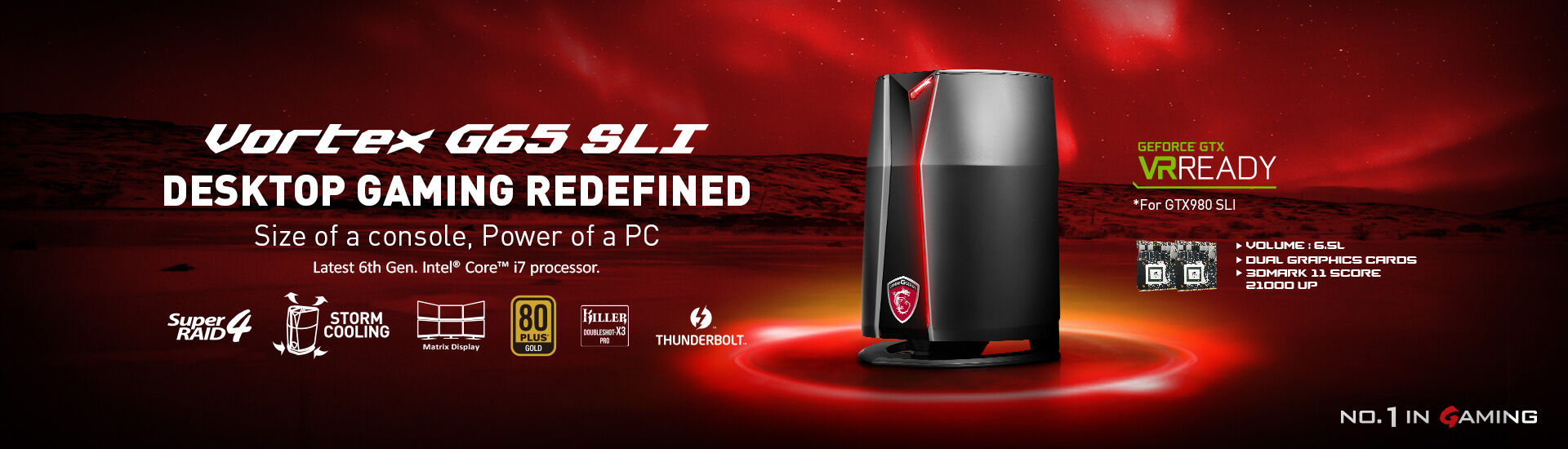 MSI pulls ahead with the 1st VR Ready Gaming Notebooks 25