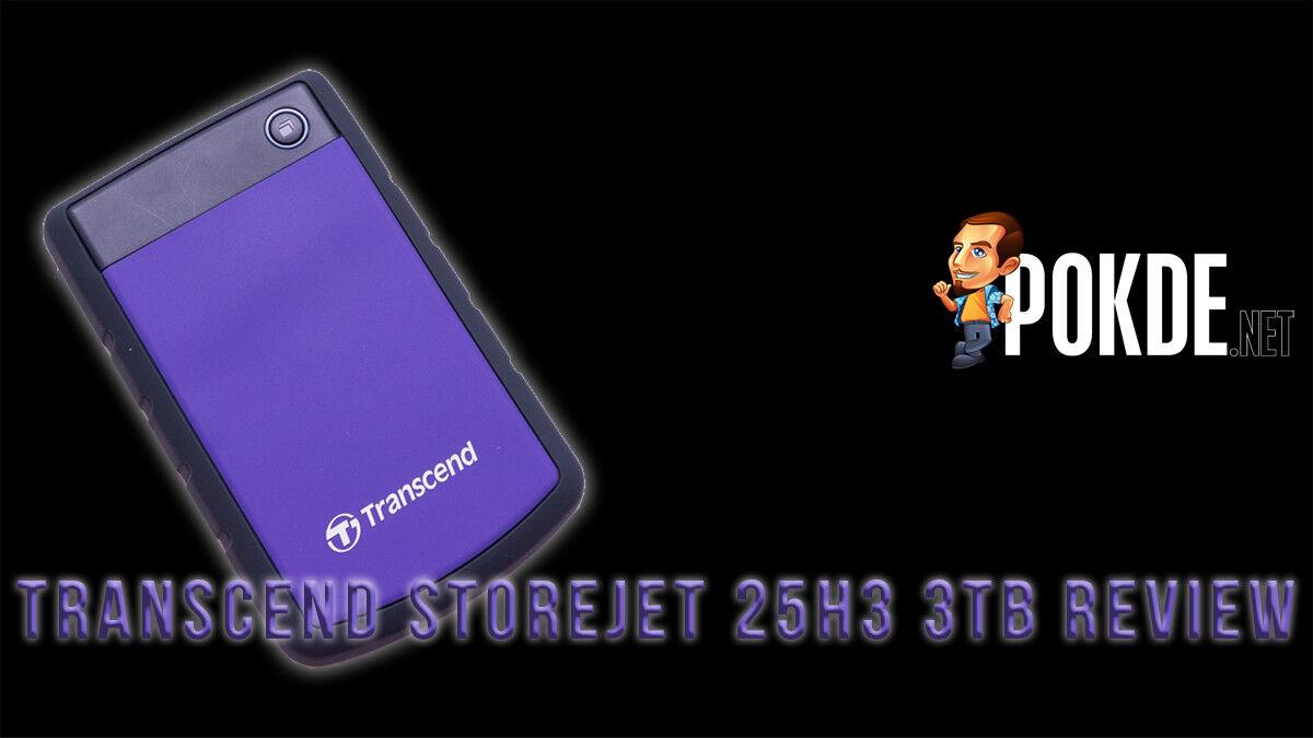 Transcend StoreJet 25H3 3TB external drive review 22