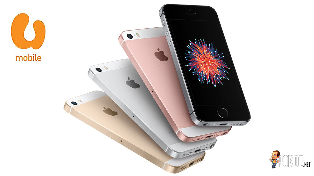 Get the iPhone SE at RM58 per month with U Mobile! 30