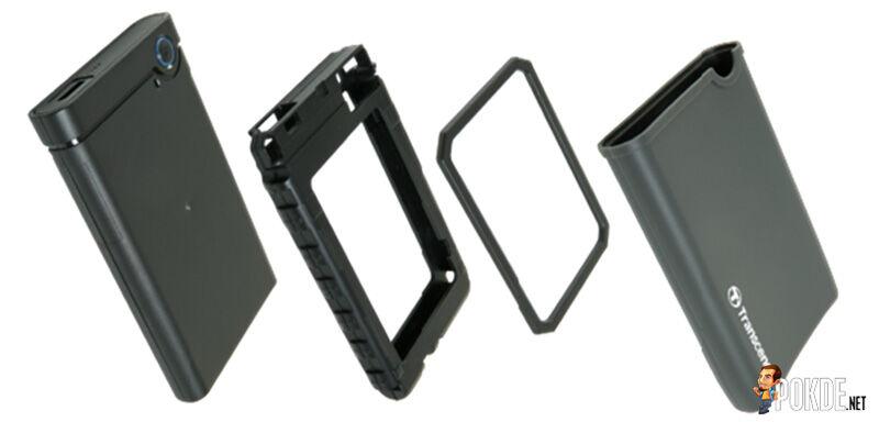 Transcend announces portable hard drive enclosure kit 22