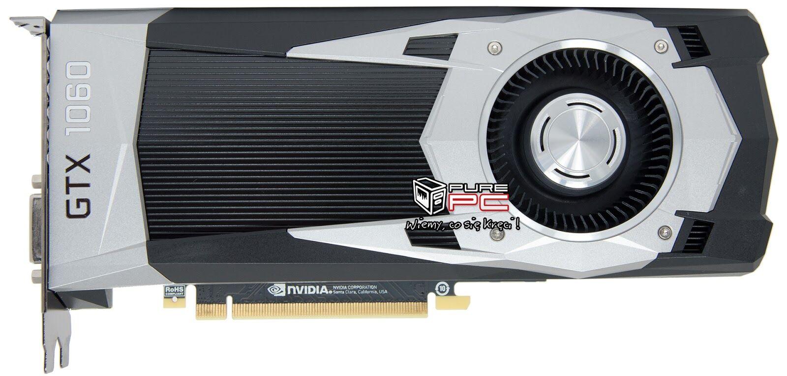 NVIDIA GeForce GTX 1060 10% faster than AMD RX 480! 30