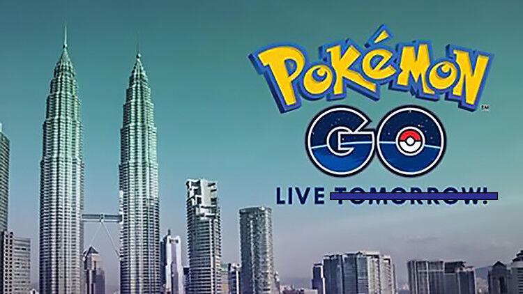 Pokemon GO Malaysia not coming today 26