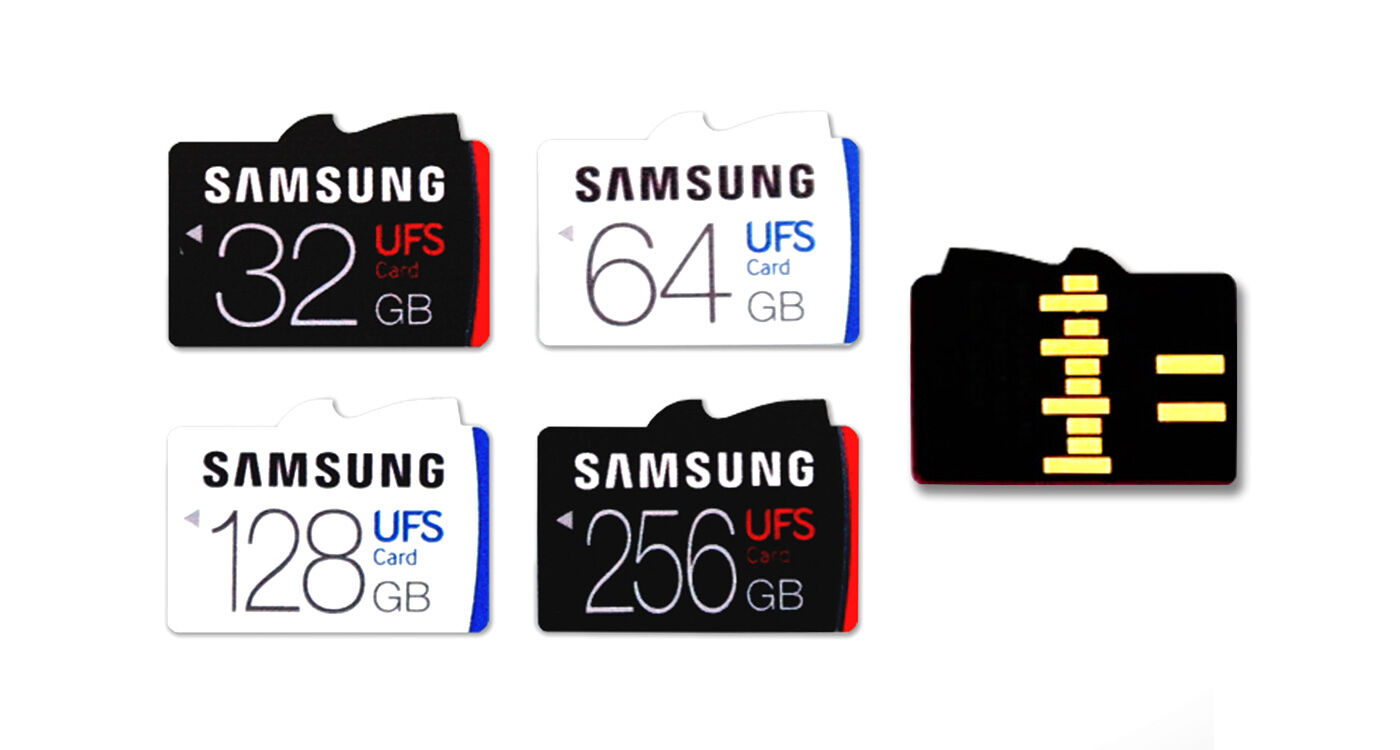 Samsung develops slot that accepts both UFS and microSD cards 18