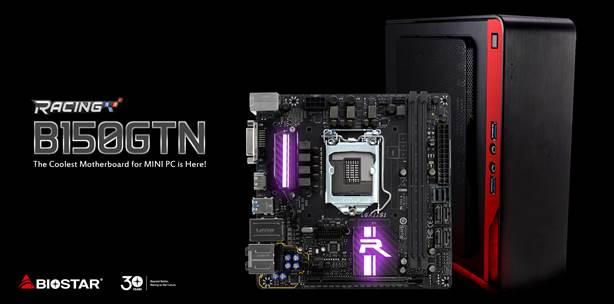 BIOSTAR RACING B150 GTN announced — their coolest ITX board yet 28