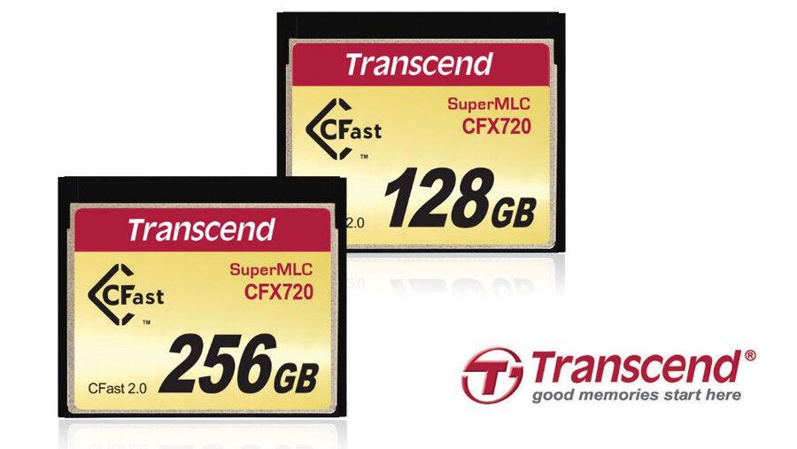 Transcend SuperMLC CFast 2.0 CFX720 memory cards announced 19