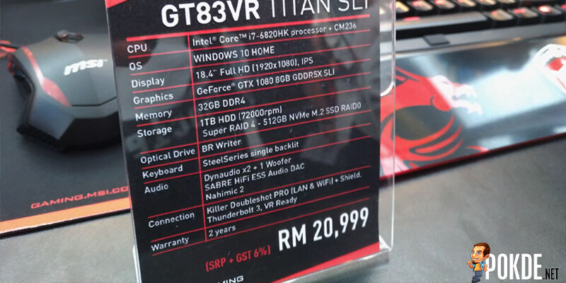 MSI Malaysia launches their new gaming notebook with NVIDIA Pascal graphics cards 22