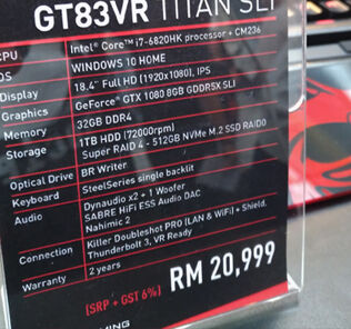 MSI Malaysia launches their new gaming notebook with NVIDIA Pascal graphics cards 26