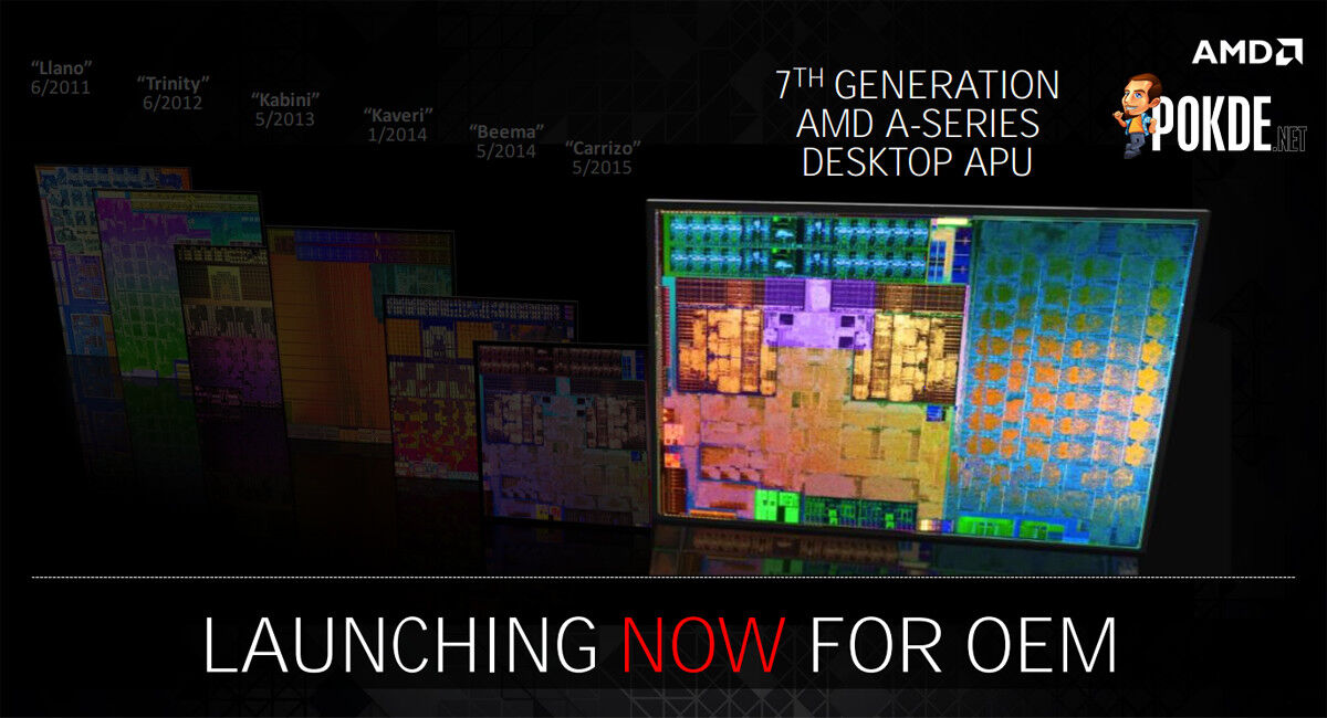 AMD launches 7th gen AMD A-Series desktop processors with DDR4 support 29