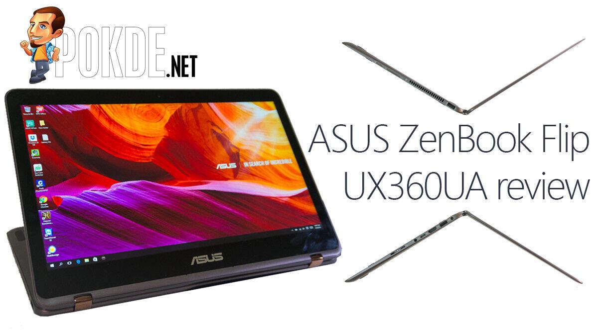 ASUS ZenBook Flip UX360UA review 27