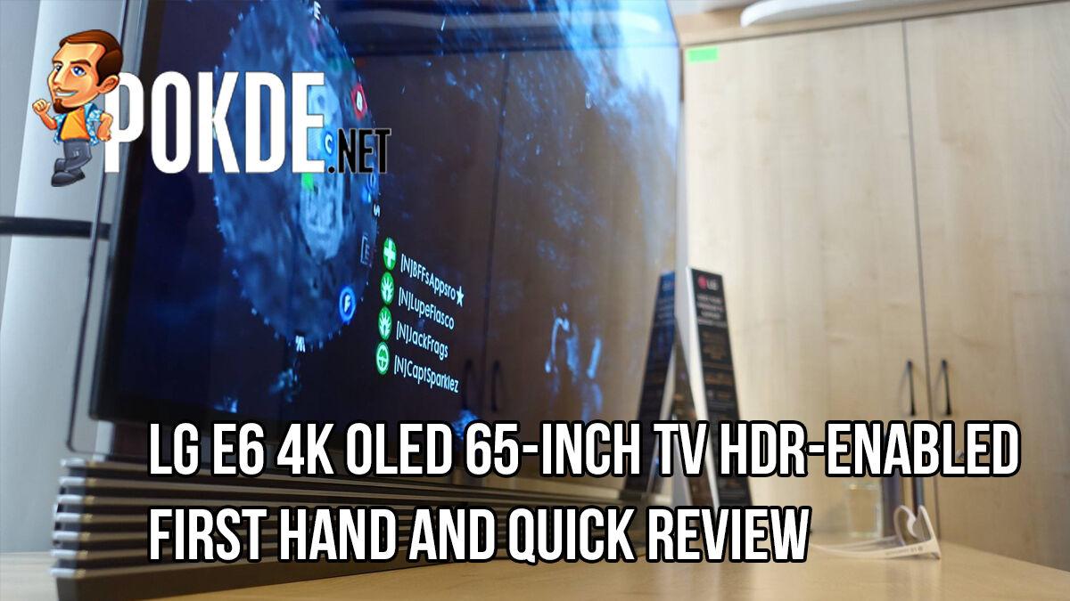 LG E6 4K OLED TV —First Impressions 26