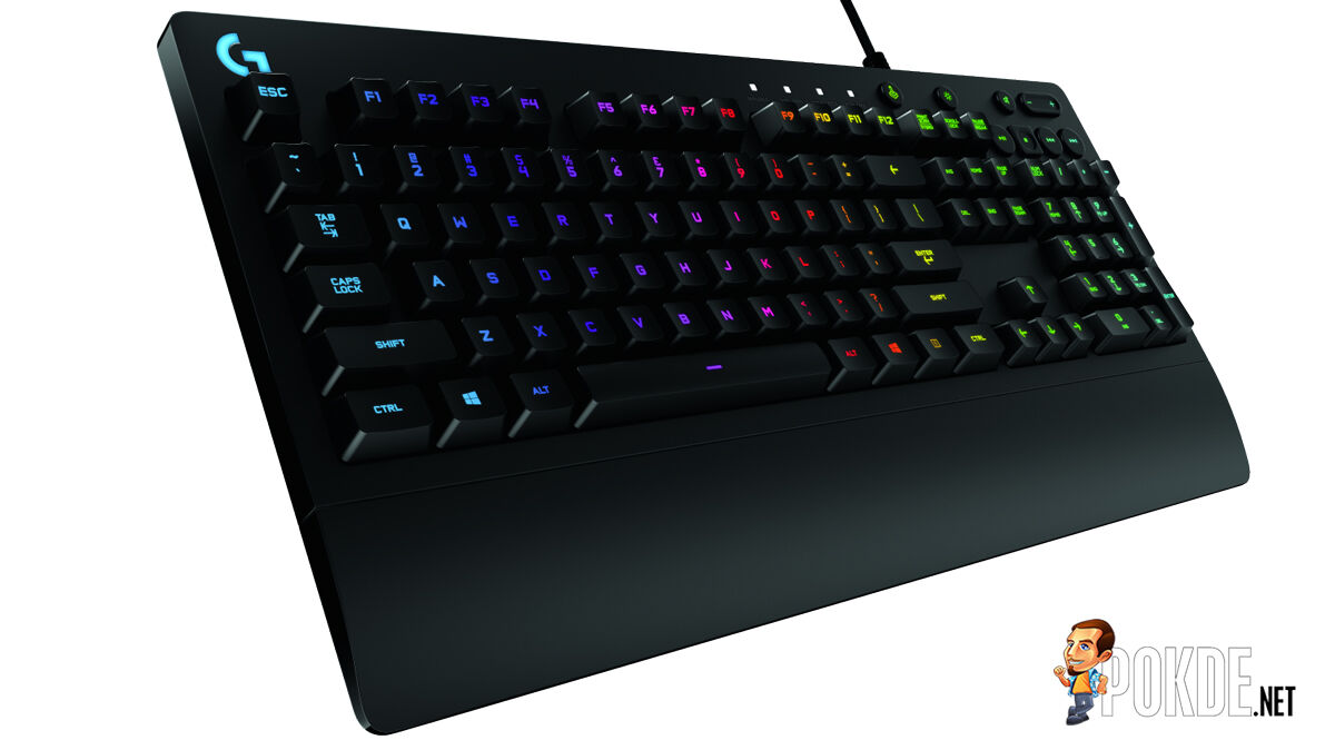 Logitech G213 Prodigy with Mech-Dome to brings the Cherry MX profile on a membrane keyboard 30