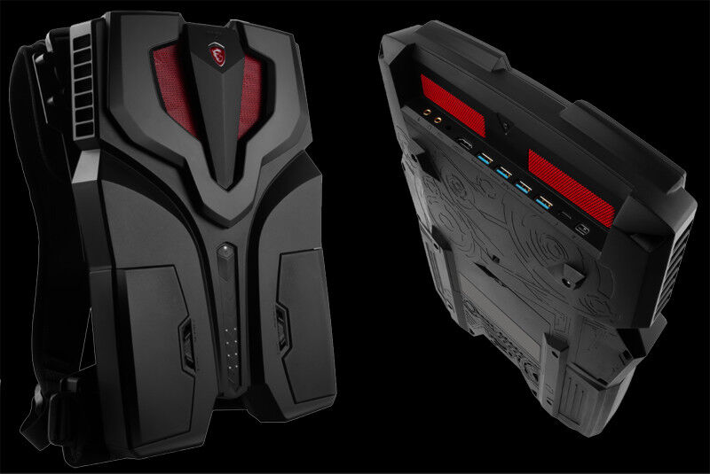 MSI debuts world's first VR backpack, the VR One, at TGS 2016 27